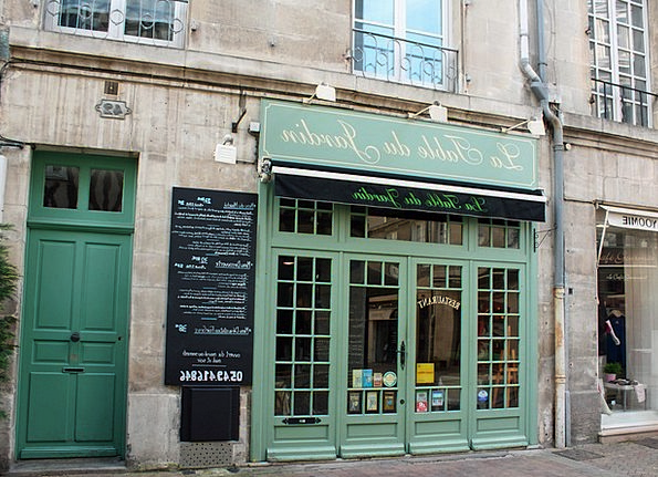 Green Door Street Cafe French Cafe France City Caf