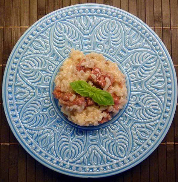 Risotto Rice Caporale Salsicce Mantova