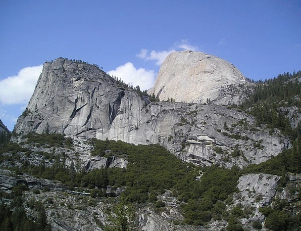 Usa National Park Yosemite Hald Dome Climb Mountai