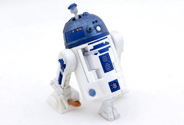 Robot Automaton Tech Star Wars Video Audiovisual W