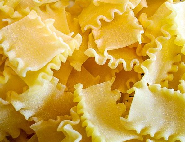 Mafaldine Drink Food Noodles Pasta Raw Uncooked Fo