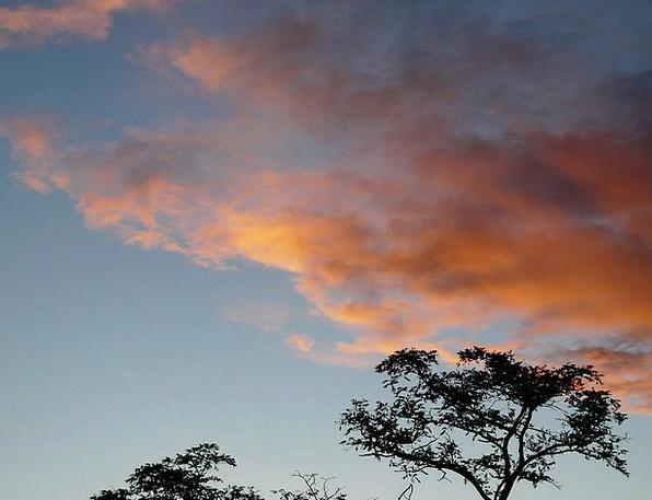 Sunset Sundown Vacation Blue Travel Clouds Vapors