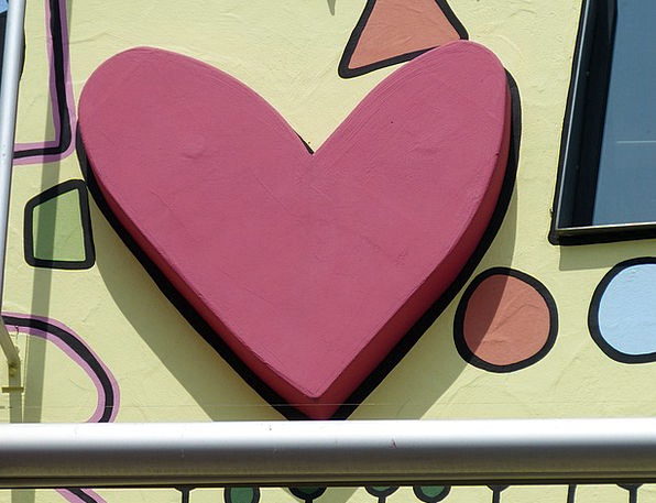 Heart Emotion Buildings Painting Architecture Arch