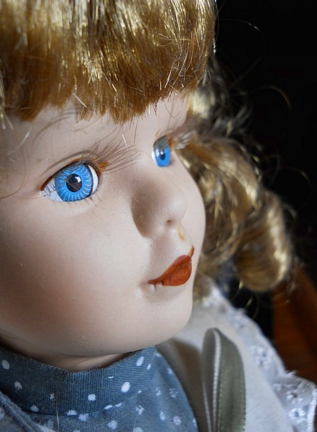 Doll Toy Expression Portrait Representation Face P