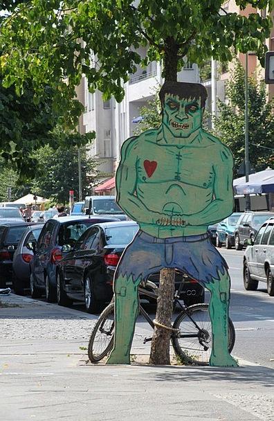Hulk Giant Traffic Unpleasant Transportation Fig U