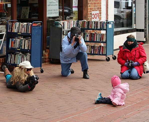 Photographers Paparazzi Perfect Child Youngster Mo