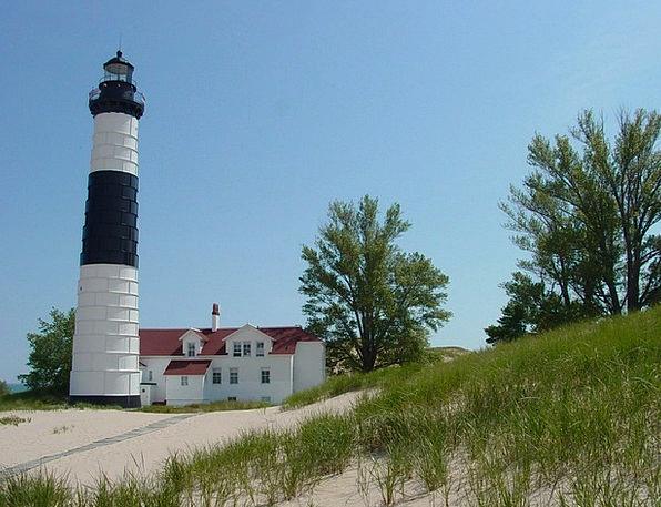Big Sable Lighthouse Vacation Travel Lighthouse La