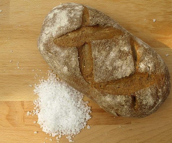 Bread And Salt Cash Salt Salty Bread Catchment
