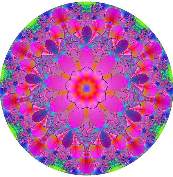 Mandala Abstract Nonconcrete Fractal Graphic Expli