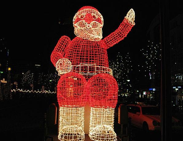 Christmas Nicholas Santa Claus Decoration Beautifi