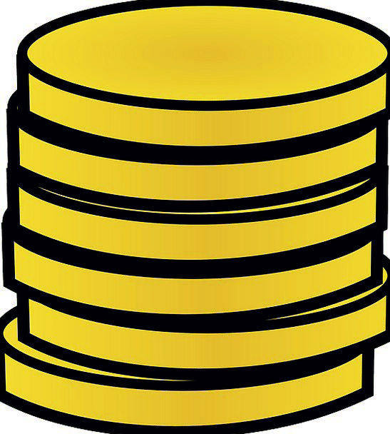 Coins Changes Gilded Stack Heap Gold Stacked Loade