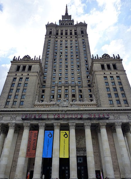 Palace Of Culture And Science Warsaw Palace Of Cul