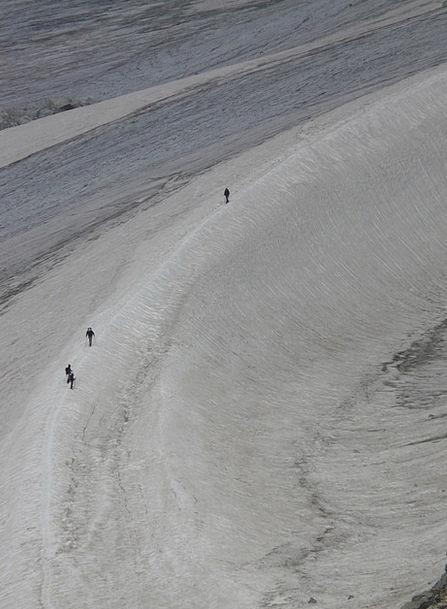 Snow Snowflake Human Humanoid Glacier Cold Run Tra