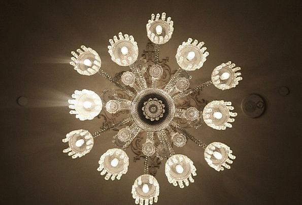 Chandelier Lights Illuminations Lustre Crystal Des