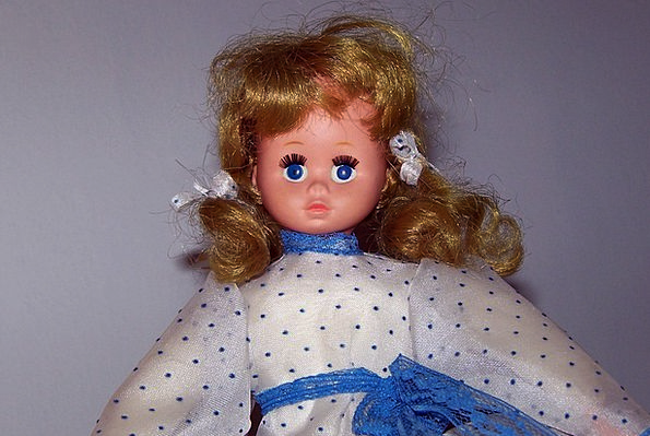Doll Frightening Halloween Scary Young Face Expres