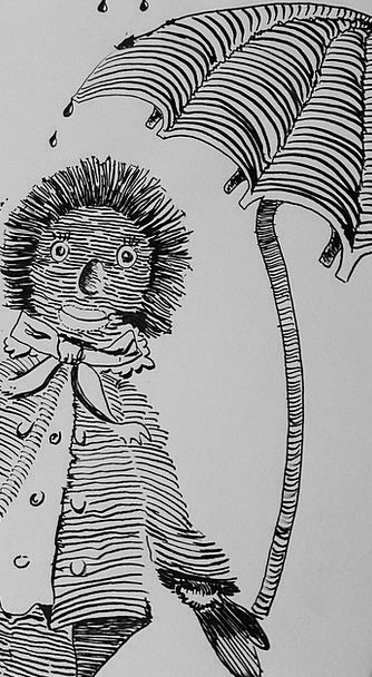 Drawing Sketch Hedgehog Drawing Lessons Learn Stud