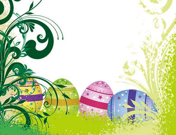 Easter Landscapes Nature Egg Ovum Easter Eggs Fili