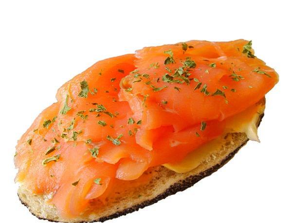 Salmon Bun Salmon Salmon Sandwich Sandwich Snack