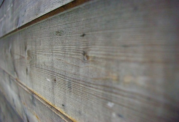 Wood Timber Panel Perspective Viewpoint Board