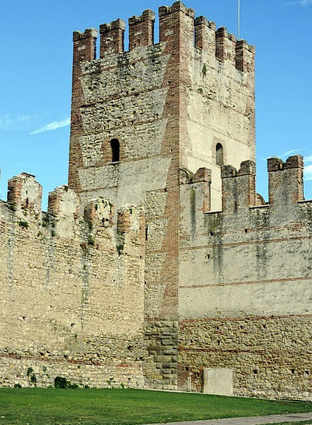 Torre Partition Middle Ages Wall Stone Pebble Vene