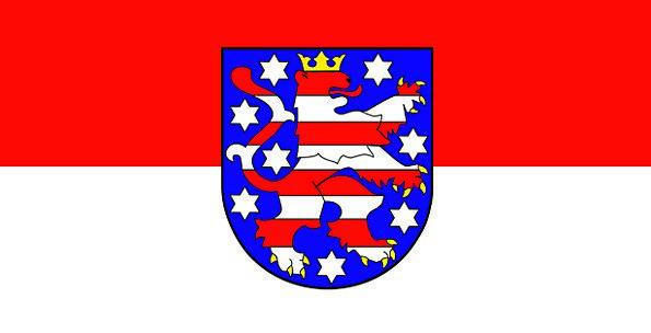 Brandenburg Standard Germany Flag Federal-State Co