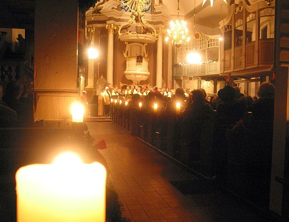 Church Ecclesiastical Entreaty Candles Tapers Pray