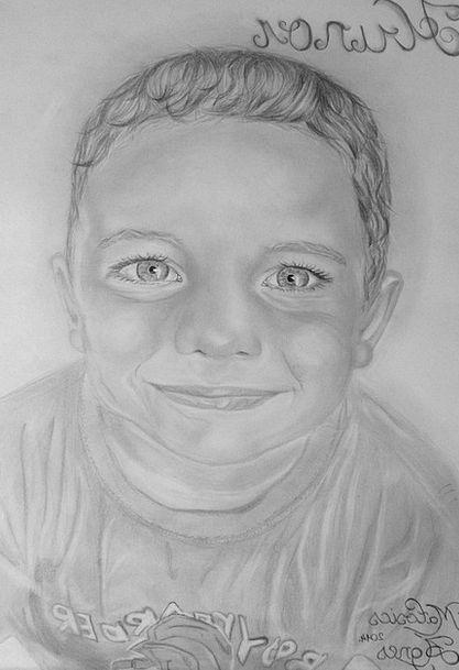Portrait Representation Sketch Graphite Drawing Ar