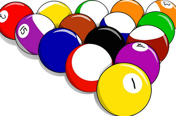 Balls Spheres Pond Billiards Pool Cue Game Willing