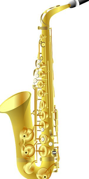 Saxophone Instrument Tool Sax Golden Music Melody