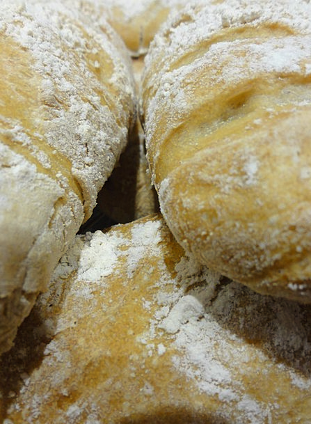 Bread Cash Twig French Stick Flour Dust Homemade H