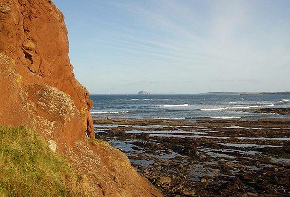 Cliff Edge Landscapes Pillars Nature Bass Rock Roc