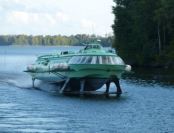 Lake Ladoga Vacation Travel Powerboat Motorboat Hy