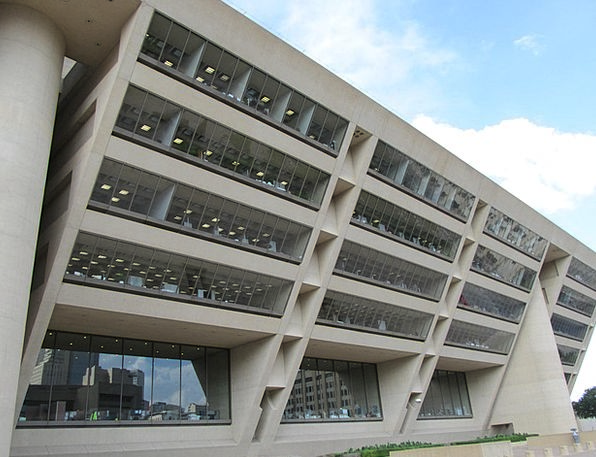 Dallas City Hall Buildings Structure Architecture