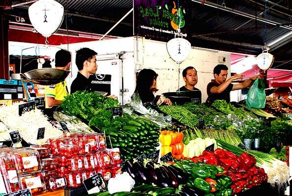 Farmers Local Market Drink Potatoes Food Vegetable