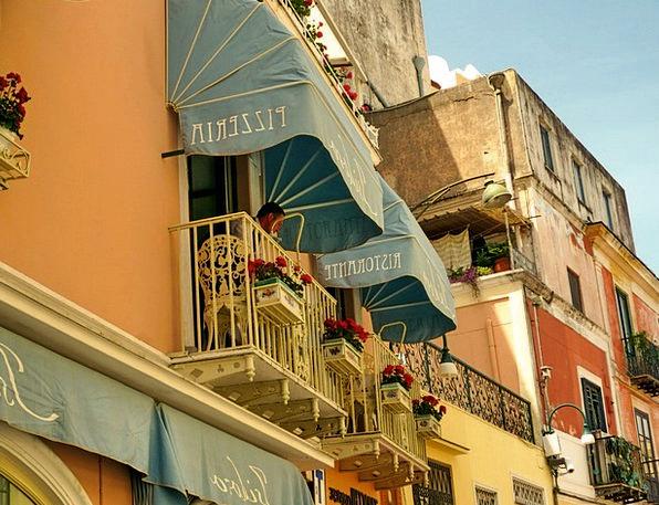 Italy Buildings Architecture Pizzeria Capri Annaca