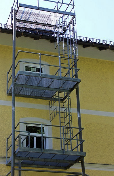 Security Safety Ladder Emergency Ladder Fire Escap