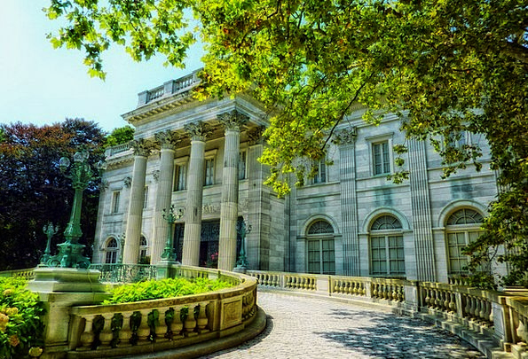 The Marble House Monuments Places Rhode Island New