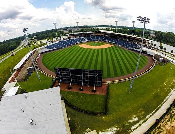 Baseball Arena Aerial Midair Field Drone Buzz Ball