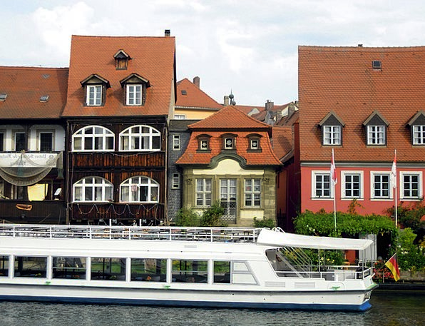 Small-Venice Regnitz Bamberg Water Aquatic River P