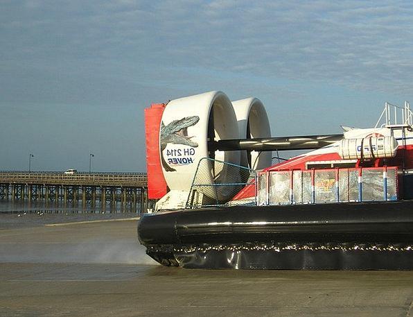 Hovercraft Traffic Conveyance Transportation Trans