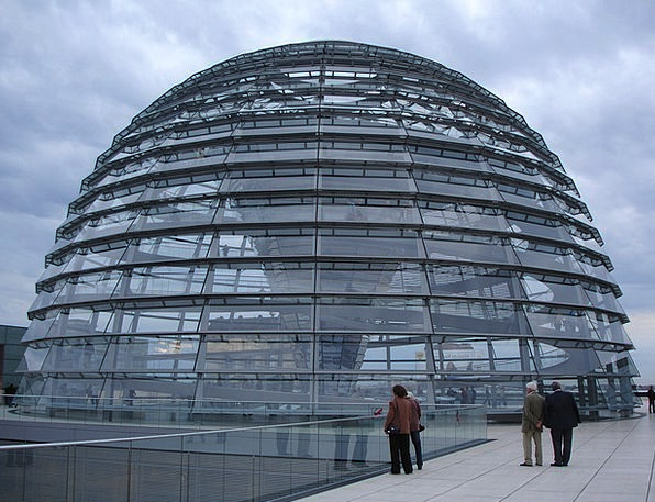 Reichstag Buildings Architecture Dome Vault Berlin