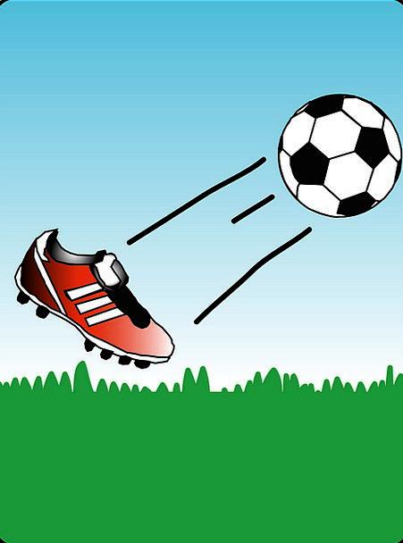 Soccer Soccer Shoe Soccer Ball Cleat Free Vector G