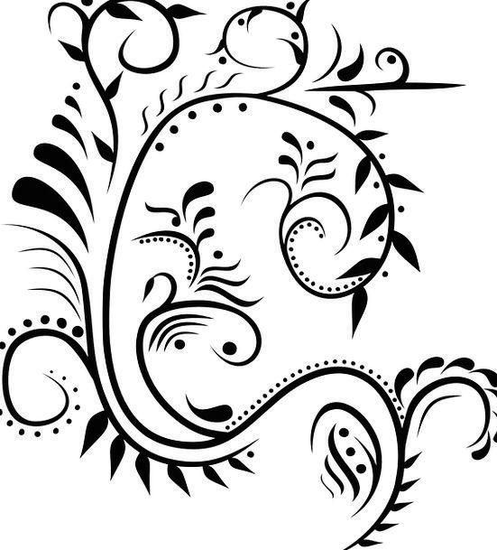Embellish Exaggerate Ornamental Decorative Abstrac
