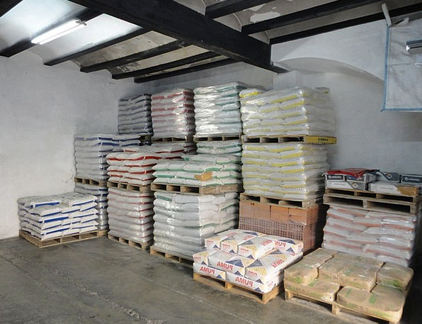 Warehouse Granary Buildings Adhesive Architecture