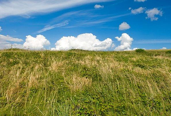Sky Blue Landscapes Vapors Nature Dramatic Affecte