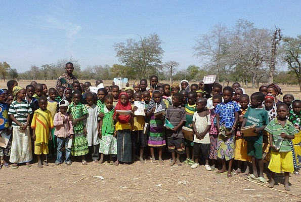 Burkina Africa Faso Kids Poor Children Group Infan