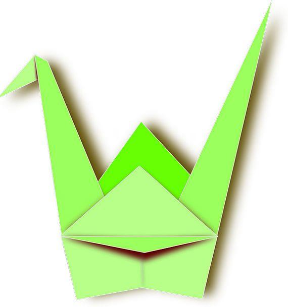Origami Hoist Duck Stoop Crane Paper Newspaper Fre
