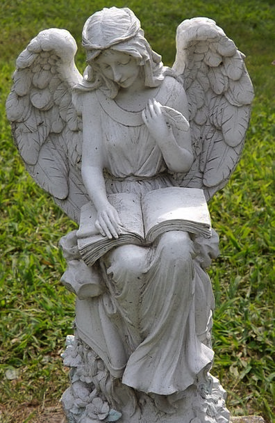 Angel Seraph Gravestone Death Demise Tombstone Mar