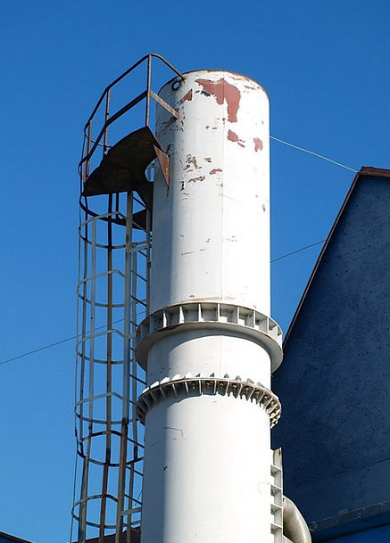 Metal Metallic Chimney Funnel The Design Of The