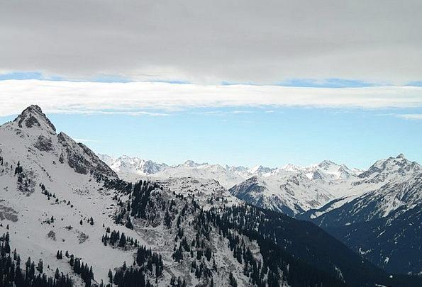 Mountains Crags Mountainous Winter Season Alpine B